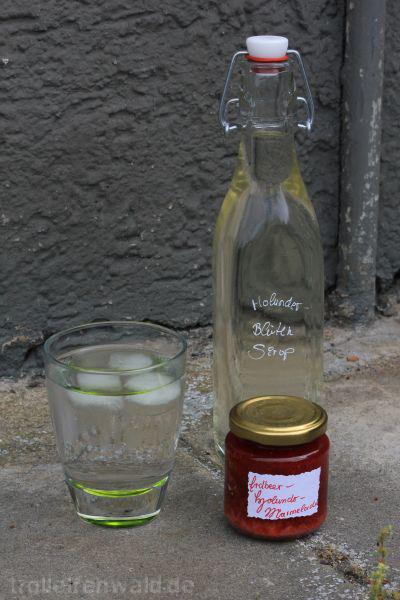 Marmelade und Sirup