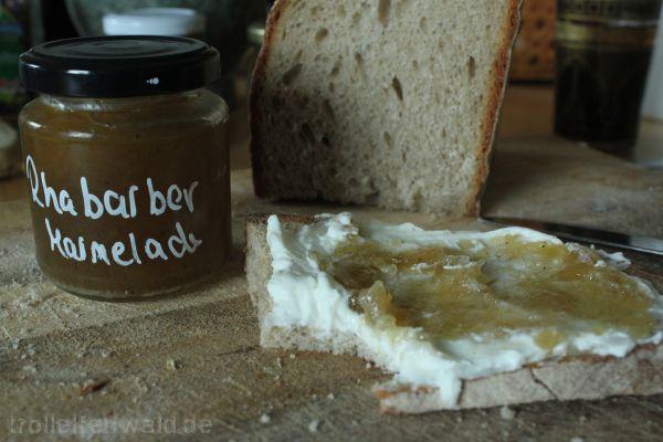 Rhabarber Marmelade 2016